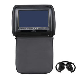 16 / 9 Mode Automobile Headrest DVD Player , Touch Screen Headrest Monitor 9 Inch 800*480 Pixels